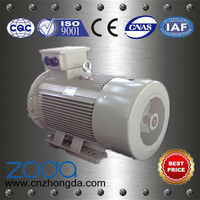 y2 series induction motor hree phase electric motor 40hp standard size electric motor
