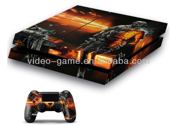 Atacado cuidados com a pele adesivo para playstation 4 console& controlador de acessórios