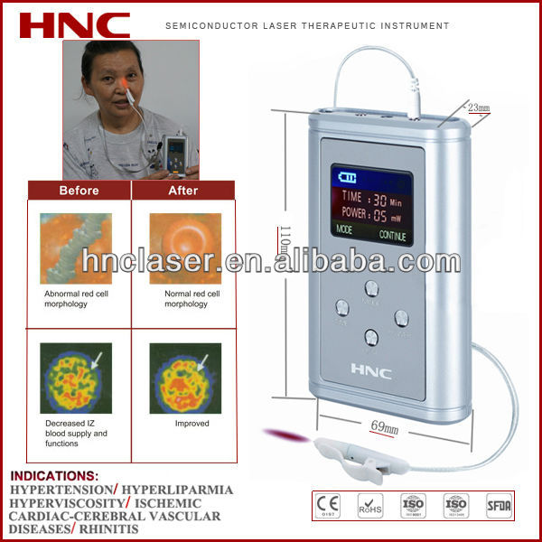 650nm various kinds of rhinitis household soft laser therapy product