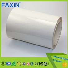 25um adhesive tape white PETsticker material for label printing