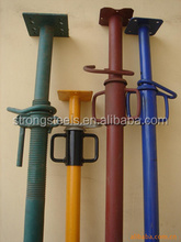 Manufacturer Light Adjustable Steel Shoring Props / Steel Support Scaffolding System