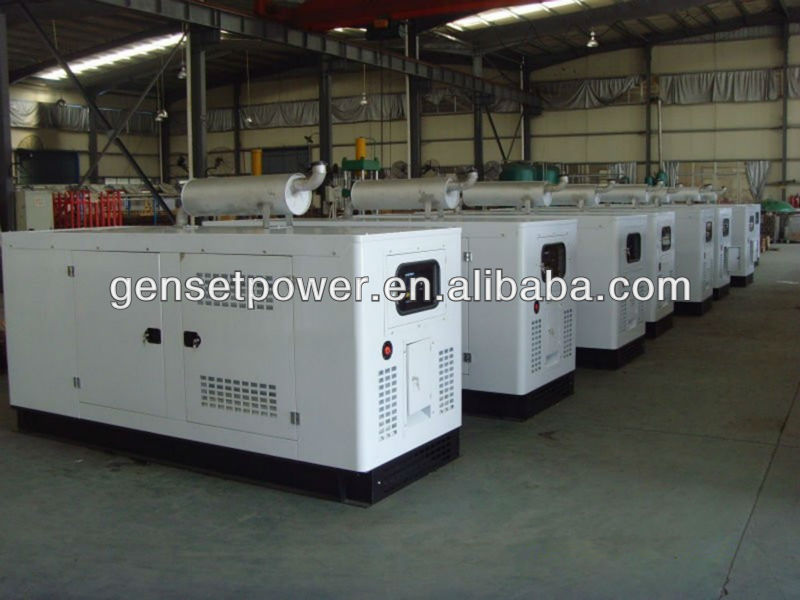 Synchronous Silent type 1000 KVA diesel power generator with stamford alternator