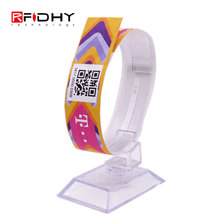 WO-01 Event Festival RFID Paper/PVC Disposable Wristband with MIFARE(R) Classic 1K