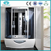 North American china manufacturer shower screen,standard size glass shower room