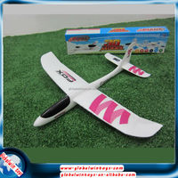 hand throwing aero done t- tail gw-131 epo foam gliders plane toy diy assemble big rc plane