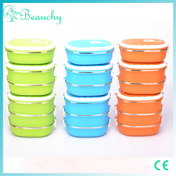 Beauchy 2016 online shopping plastic lunch box with high quality