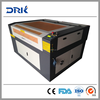 Cost-effective!!! wood/leather/stone/marble/rubber/stamp laser cutting machine DRK1290 80W