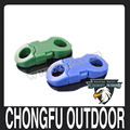 "Hot Selling 1/4"" Round Clasp Plastic Buckle for survival paracord bracelets wholesale alibaba"