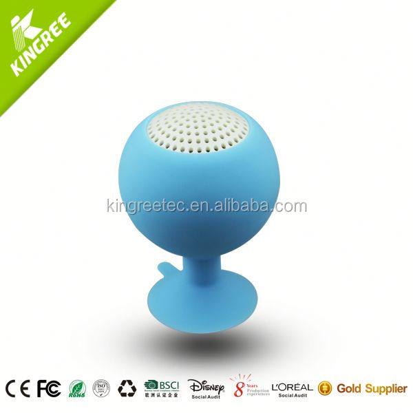 wholesale power bank with speaker silicone portable speaker from China factory