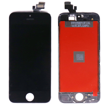 mobile phone accessories Black color lcd touch screen display for iphone 5 display