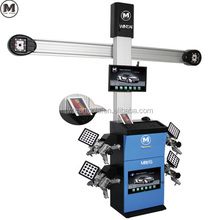 Dual screen 3D four-wheel alignment machine M881S