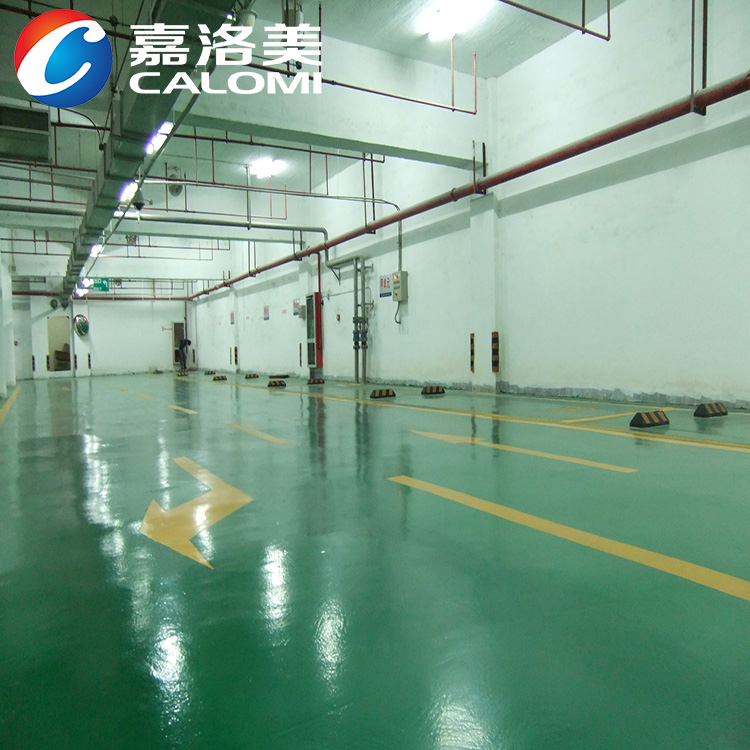 Calomi High strength waterproof epoxy paint floor for factory