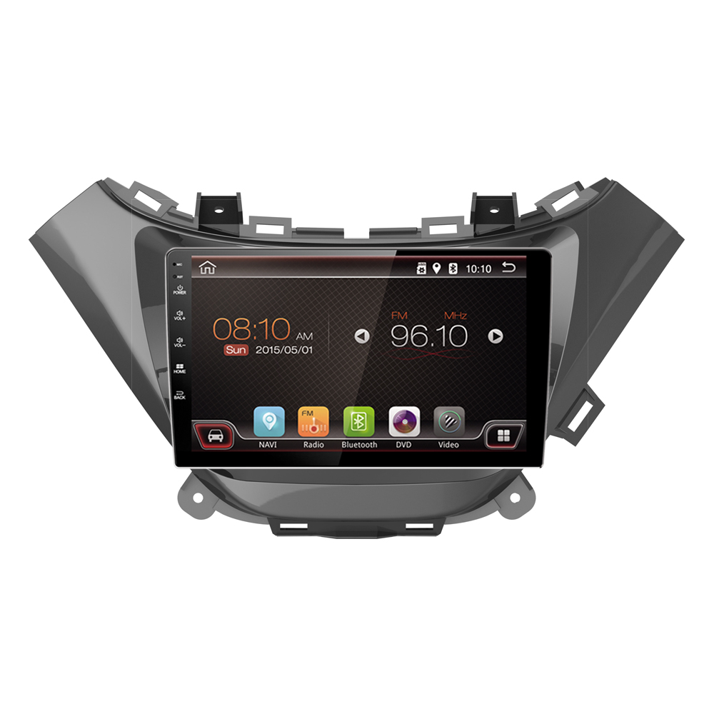 Bluetooth wifi hotpot android 6.0 smart car dvd player 9inch touch screen car radio 2015 chevrolet malibu car navigation gps