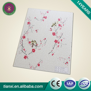 Color available building advertising decorative bamboo wood panel waterproof