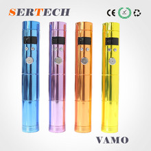 vamo ecig electric cigarette stainless steel cigarrillos electronicos vamo v5 fit all the 510/ego thread atomizer