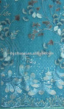 Fashion eco-friendly cotton nylon lace fabric