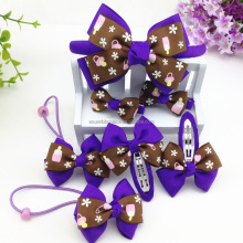 Wholesale kids hair clips hair band hair accessory set