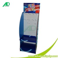 Accessories Display Racks Floor Cardboard Hanger Display Advertising Stand For Accessories Ornament