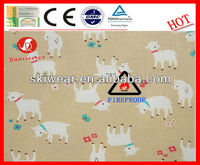 Antistatic and Heat Insulation Goat Print Fabric
