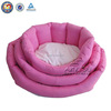 QQuan warm round small dog beds & custom small pet beds