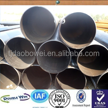 ASTM A312 A315 A355 A53 carbon steel fluid pipe