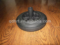 "10"" Solid Rubber Wheel For Waste Bin"