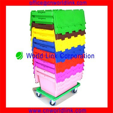 Heavy Duty Tool Cart Plastic Tote Movers