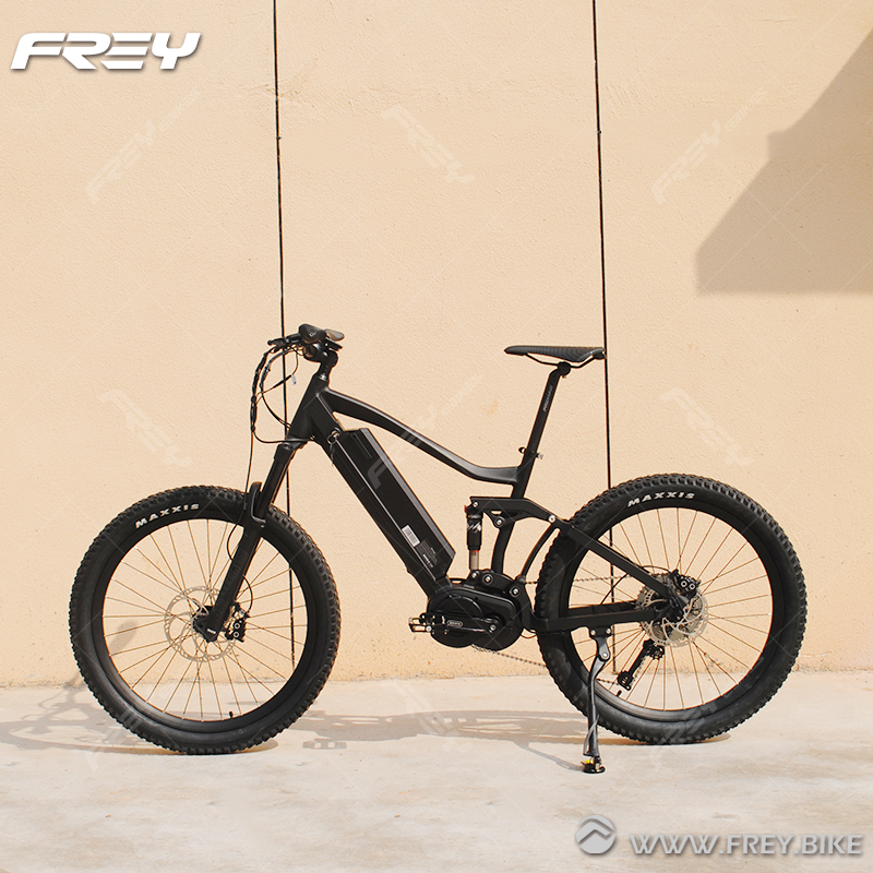 High End Stealth Bomber 1000W Bafang Mid Drive Electric Bike