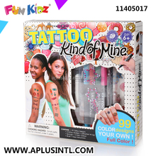 Kids Craft DIY Tattoo Girl Kits