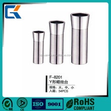 2018 Cheap 304 S.S candle holder for hotel supplies