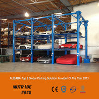 automatic new released stacker car parking