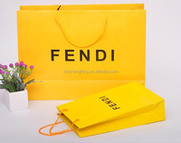 printed cheap luxury paper shopping bag