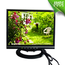 cheap square screen dc12v desktop used tft 14 inch lcd monitor