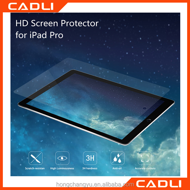 9H hardness Screen Protector Tablet Front Cover Full Protective Film Pad Accessory For iPad Pro Tempered Glass
