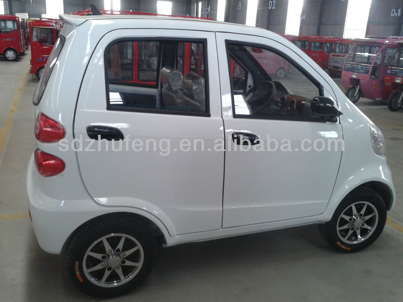 Auto electric car with 4 seats for passenger/pick up