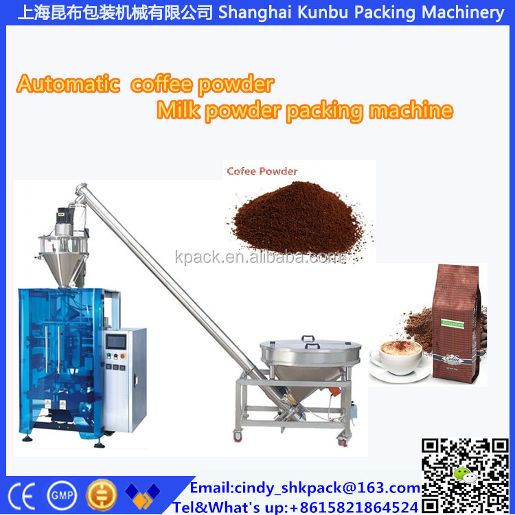 Top manufacturer CE aproved KL-420F 1 kg flour bag packaging machine +8615821864524