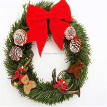 New style Promotional PVC Artificial Christmas Wreath Garland for Christmas,christmas garland