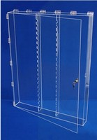 Clear Acrylic Wall Mounted Display Case