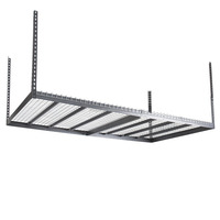 Overhead Garage Storage Ceiling Mounted Wall Organization Rack 4x8