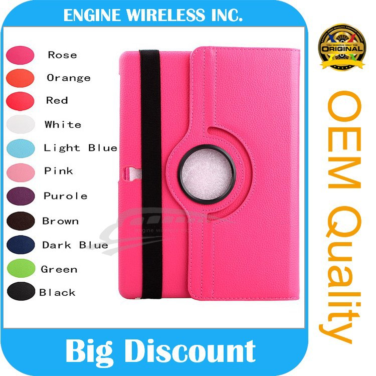360 Rotating Leather Case Cover For iPad 5 6 Air 2 3 4 Mini Flip