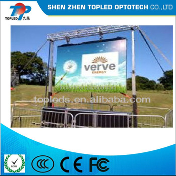 P25 outdoor full color electronic LED display board