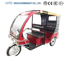 Handicapped Vehicle Disabled Electric Tricycle For Passenger Seat