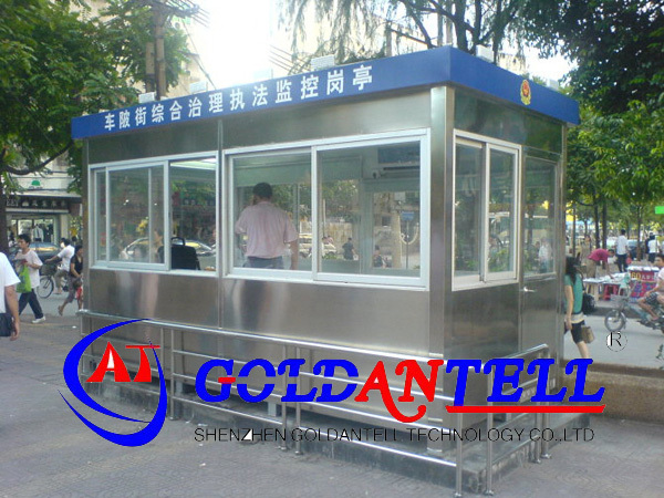 Long life factory price high quality portable box movable sentry security house for parking lot