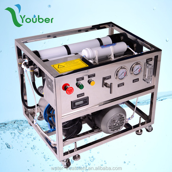 Portable water desalinator
