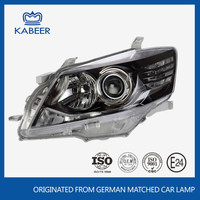 Car head light type auto head lamp for toyota car camry black style 2013
