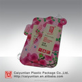 Special shape pure aluminium packing bag