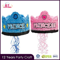 Pinata For Little Prince Princess Crown For Girls Party Supply