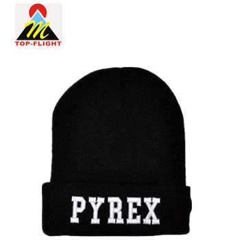 2017 made in china cheap sale good quality black knitted beanie hat