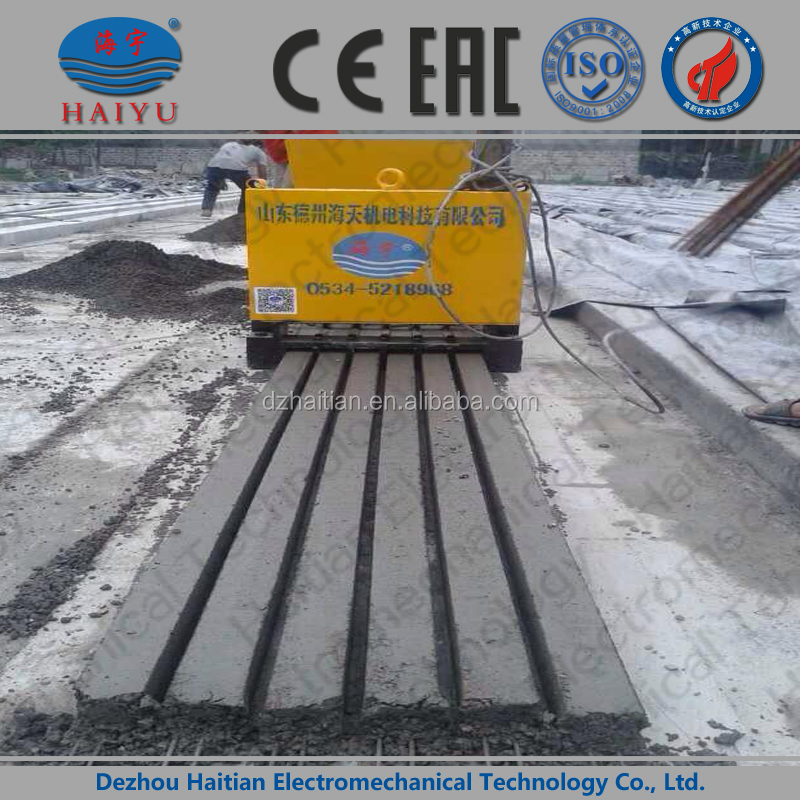 Precast Concrete Lintel forming machine concrete block prestressed