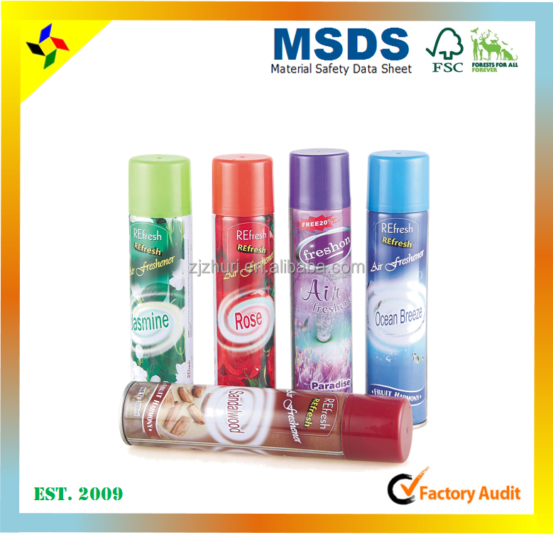 Competitive air freshener spray for Pakistan